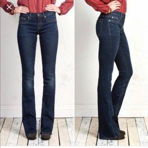 29- Henry & Belle micro flare dark jean